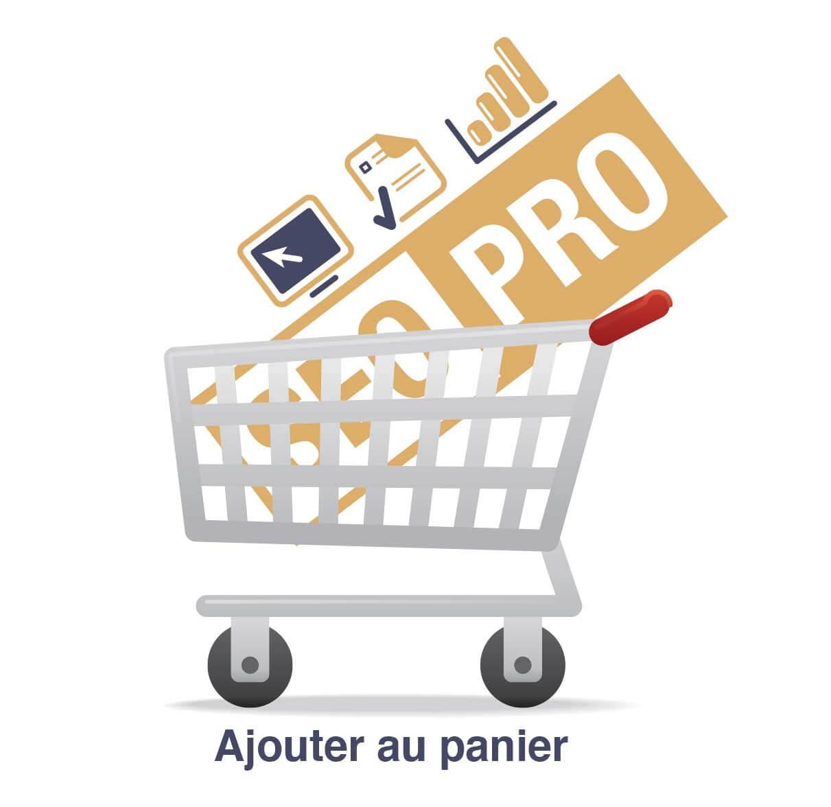 Certification SEO PRO panier d'achat